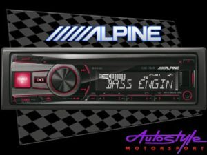 Alpine CDE-192R Mp3 with USB Front Loader-0