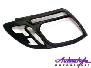 Ford Ranger 2012-2015 Matt Black Headlight Trim-0