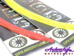 Adhesive Wheel Decoration Stickers (set of 16)-22827