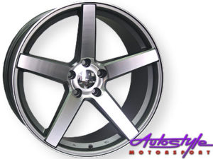 "19"" VS 5/112 9.5J Alloy Wheels-0"