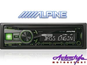 Alpine CDE-190R Mp3 CD Receiver with USB-0