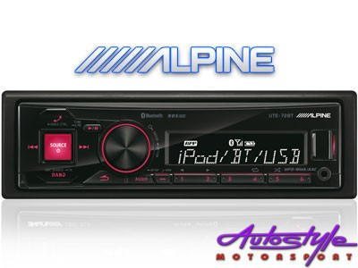 Alpine UTE-72BT Digita Media Receiver with Bluetooth-0