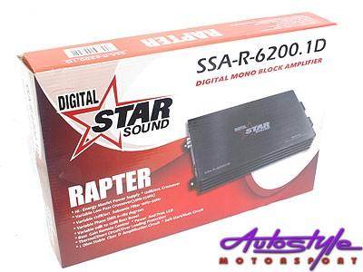 Starsound Rapter Series 6200w Monoblock Amplifier-23103