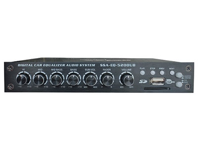 Starsound 5 Band Equalizer with USB