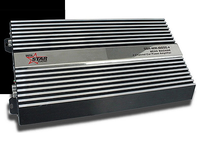Starsound SSA-MM-10000.4 125rms x 4 Mean Machine Amplifier
