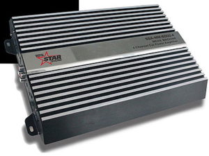 Starsound Mean Machine 6000w 4 Channel Mosfet Power Amplifier-0