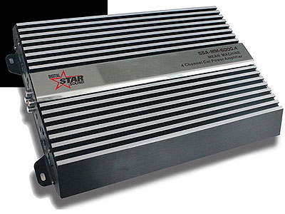 Starsound Mean Machine 6000w 4 Channel Mosfet Power Amplifier