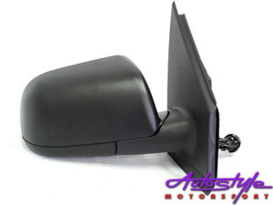 VW Polo 02+ Replacement Manual Mirror (LHS)-0