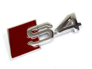 Audi S4 Grille Badge-0