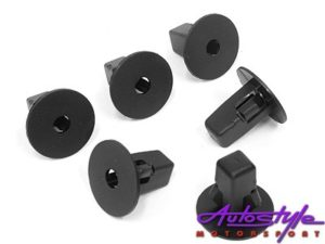 Universal Plastic Bodywork Mounting Clips Type 31-0