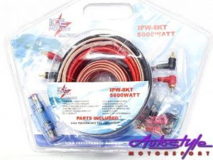 ICE Power 8Gauge Audio Wiring Kit-0