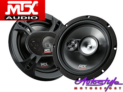 "MTX TRC803 8"" 300w 3way Limpid Speakers-0"