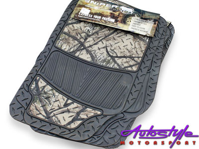 Sniper Shadow Camouflage Rubber Floor Mats-0