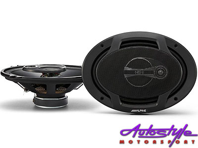 Alpine SPJ-691C3 6×9″ 3way 400w Speakers