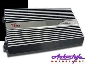 Starsound SSA-MM-10000.4 125rms x 4 Mean Machine Amplifier-0