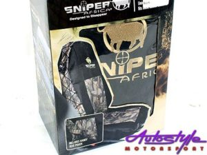 Sniper Shadow Camouflage Design Canvas Seat Cover (each)-0