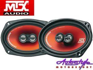 "MTX TR694 300w 3way 6x9"" Speakers-0"
