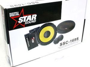 "Starsound 6"" Shallow Split System Speakers-0"