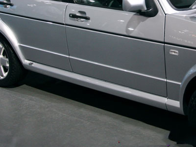VW Golf Mk1 R-Line Fibreglass Side Skirts (Pair)