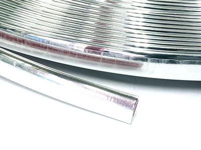 Stick-on Chrome Beading 8mm x 15metre Roll