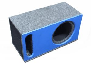 "10"" Subwoofer Enclosure Vinyl with Slot-0"