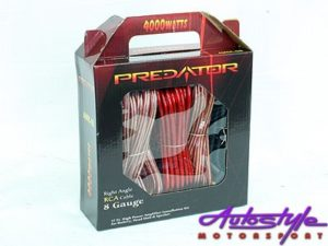 Predator 8 Gauge Car Audio Wiring Kit-0