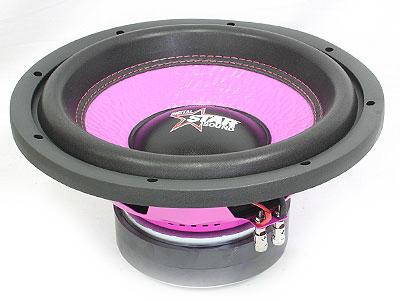 Starsound Spectrum Pink Series 6500w dvc Subwoofer