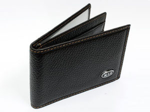 Kia Dark Brown Leather CardHolder Wallet-0