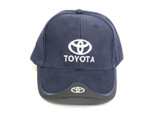 Toyota Leather tip Baseball Cap-0