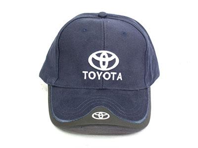 Toyota Leather tip Baseball Cap