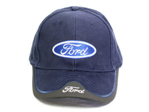 Ford Leather tip Baseball Cap-23635