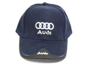 Audi Leather tip Baseball Cap-0
