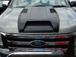 Ford Ranger Plastic Vented Bonnet Scoop-0