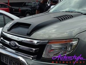 Ford Ranger Plastic Vented Bonnet Scoop-24578