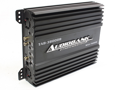 Audiobank 7600w 1ch Class D Amplifier