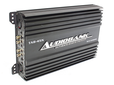 Audiobank 6400w 4channel Amplifier