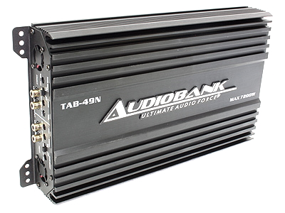 Audiobank 7200w 4channel Amplifier