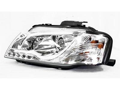 Audi A3 Chrome DRL Tube 03+ Headlights (pair)