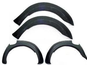 Ford Ranger 2016 Matt Black Wheel Arch Set-0
