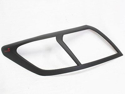 Toyota Hilux 2015 Matt Black Headlight Trim (pair)