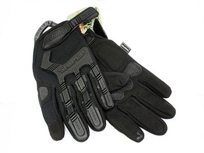 Sniper Swat Tactical Black Gloves (regular)
