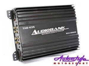 Audiobank 5800w 4channel Amplifier-0