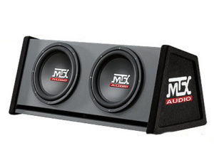 "MTX RT12X2DV 12"" Double Vented Sub & Enclosure Combo-0"