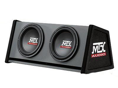 MTX RT12X2DV 12″ Double Vented Sub & Enclosure Combo