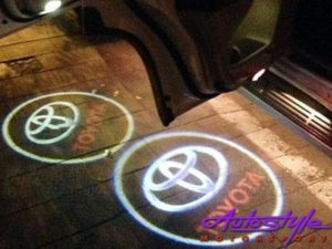Door Puddle Light with Toyota Design (pair)-0