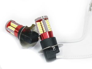 ICE 57LED H3 Ultra White Bulbs (pair)-0