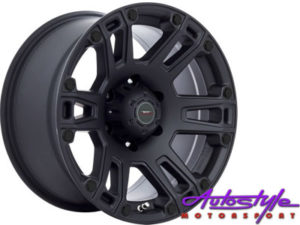 "16"" A-Line Dagger 6/139 STBK Alloy Wheels-0"