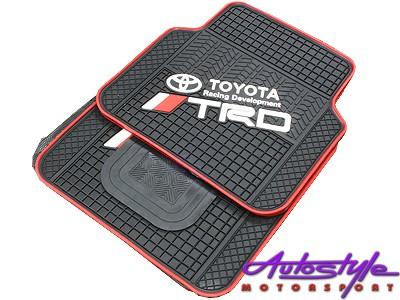Universal Toyota TRD Rubber Floor Mats-0