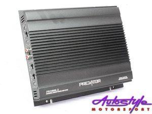Predator 2000w 2channel Amplifier-0