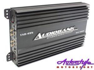 Audiobank 7200w 4channel Amplifier-0